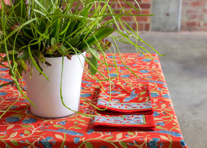 A Statement Tablecloth