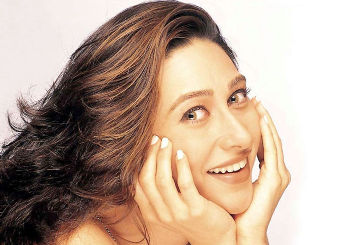Blue eyed beauty Karishma Kapoor