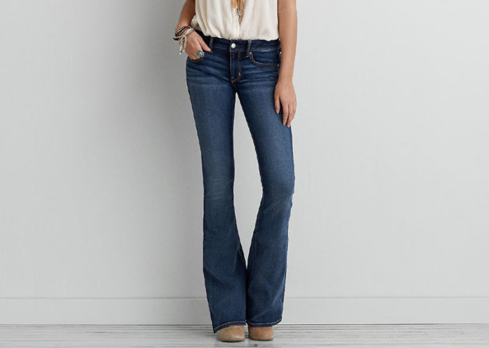 Try Flared Jeans