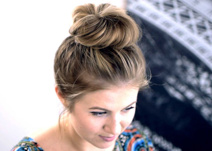 Pull Your Hair into a Top Knot