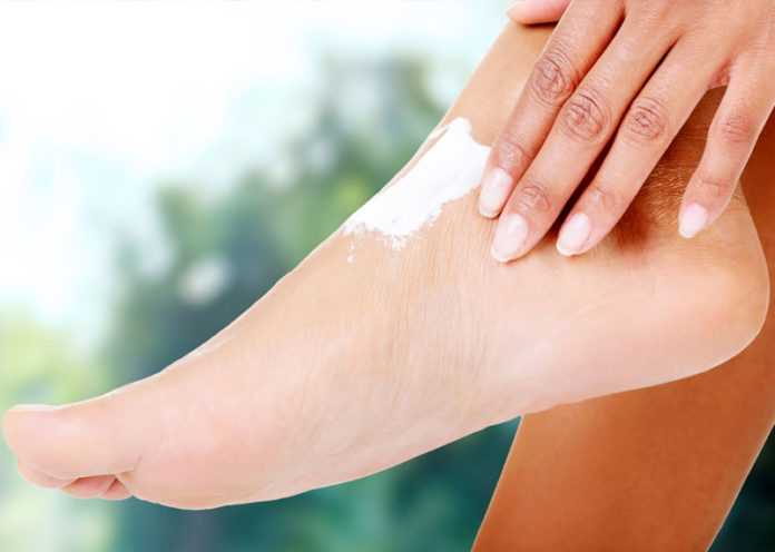 Foot cream for heels