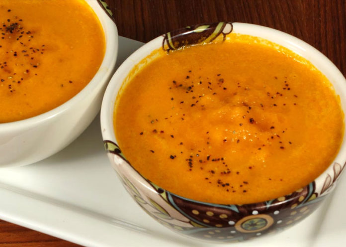 Carrot And Moong Dal Soup