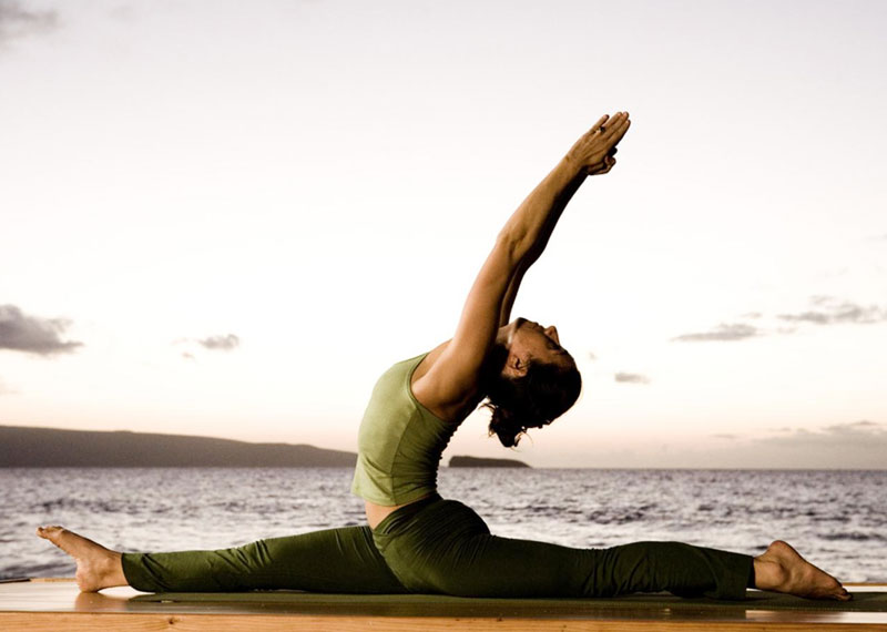Myth - Being flexible in yoga is the key