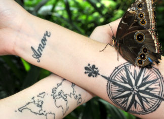 Inspiring Tattoos For Travellers
