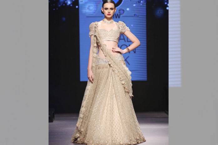 Ivory Trail Bridal Collection Lehenga