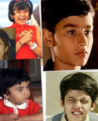 popular Bollywood child artists