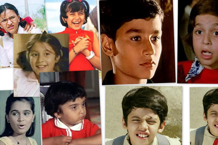 popular Bollywood child artists