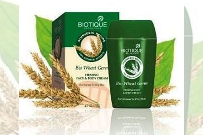 Biotique Bio Wheat Germ Firming Face
