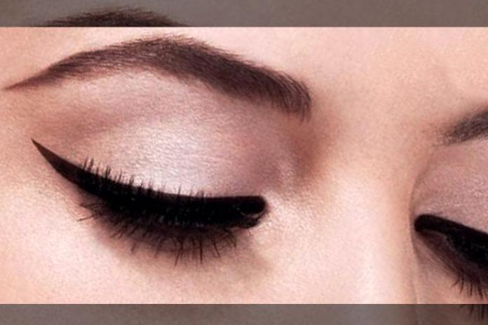 Intensify eye makeup