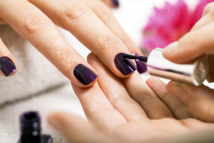 Pretty manicure