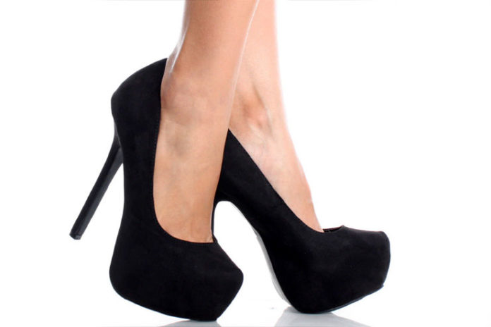 Black stilletos