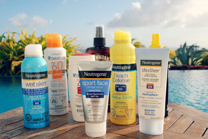 Types of Sunscreens