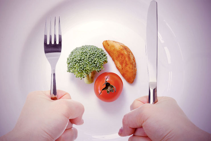 If you eat less food you lose more weight