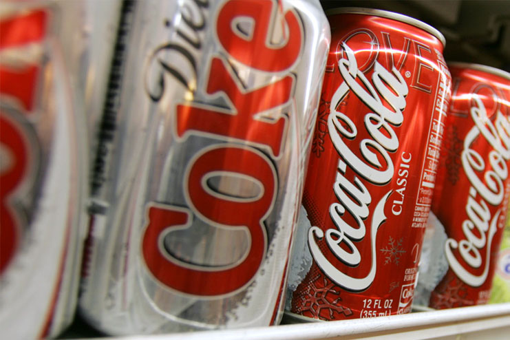 Diet drinks are a good alternative to sodas