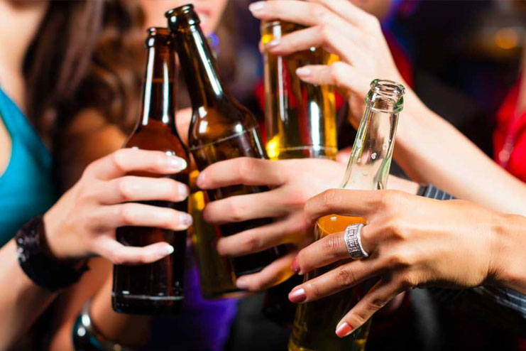 avoiding alcohol