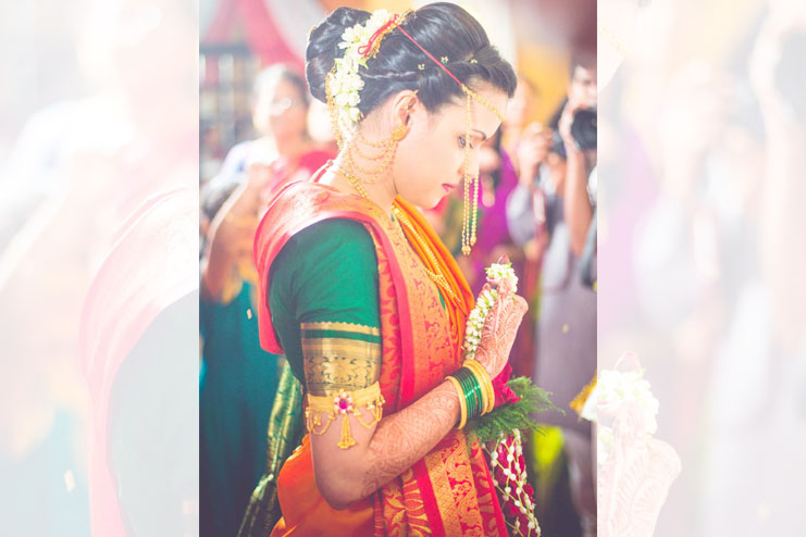 Maharashtrian Hindu wedding