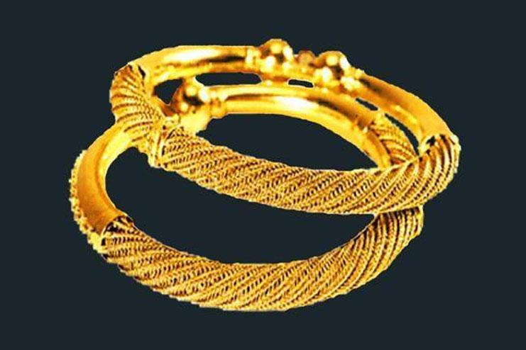 Gold on Iron