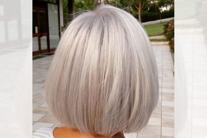 Gray Hair Glam