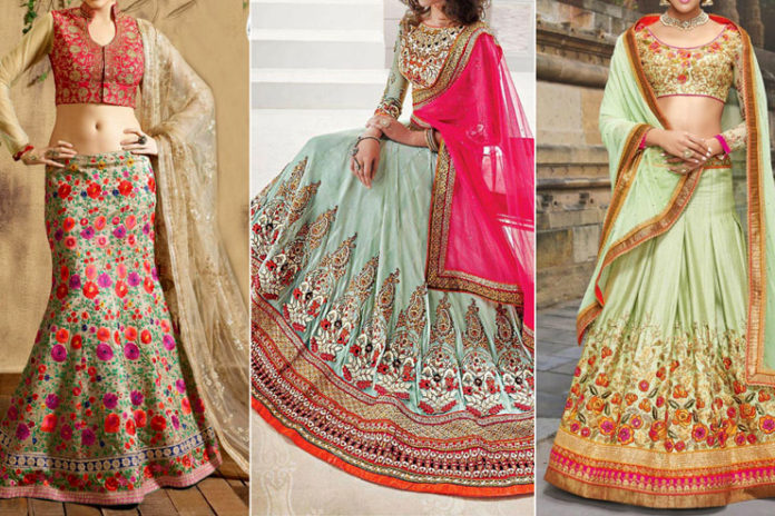 Top Bridal Lehenga Designs