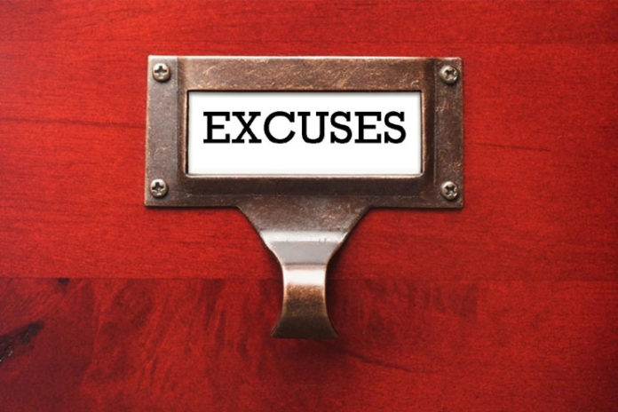 Live in the excuses zone
