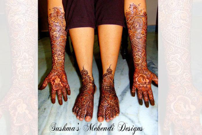 Sushma's Mehndi Designer