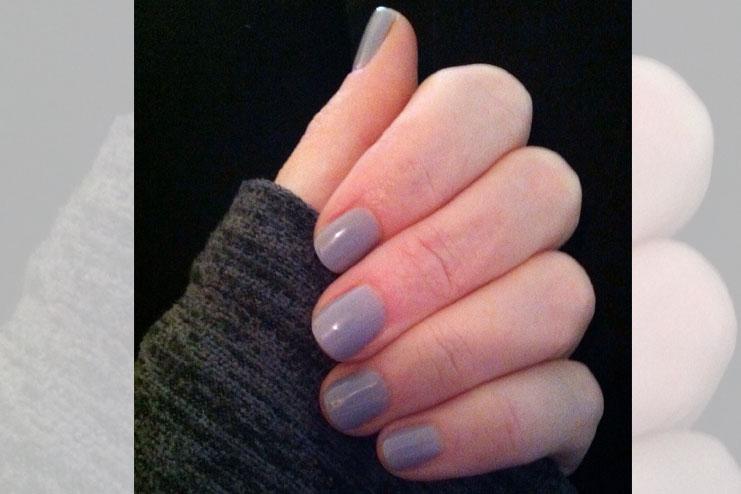nail polish at all