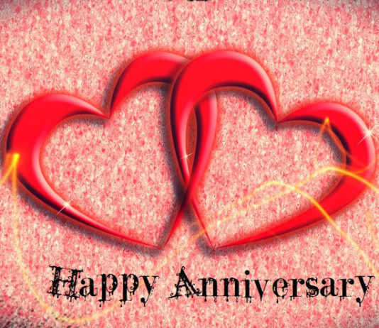have a perfect anniversary