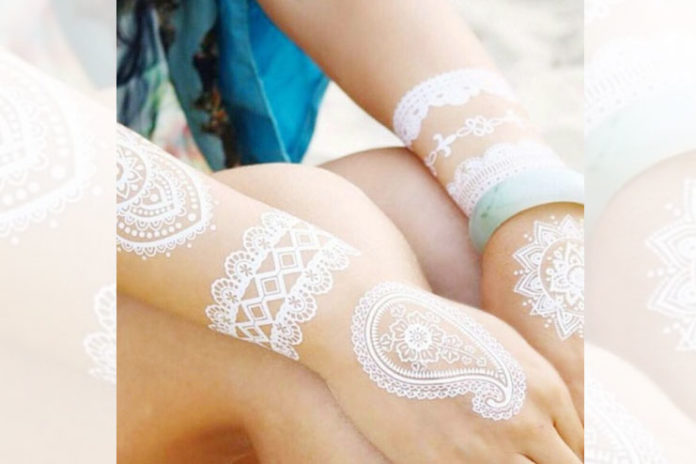 Types of white henna
