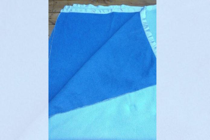 Two-Tone Wool Blanket