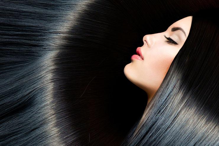 Avocado hair mask for shiny hair