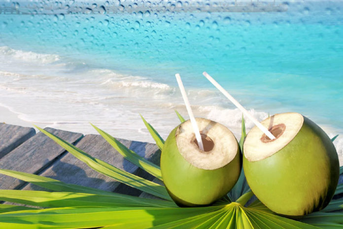 Hydrate Dry Skin With Coconut Water