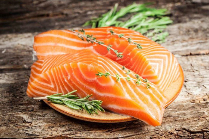 Prevent sun damage by eating wild salmon