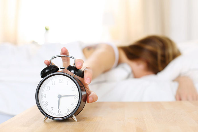 Disturbed sleep can accelerates