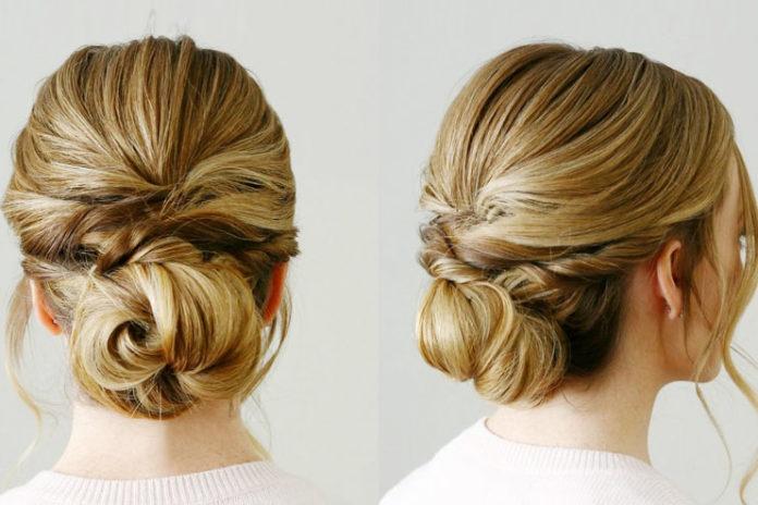 The Knotted Low Bun