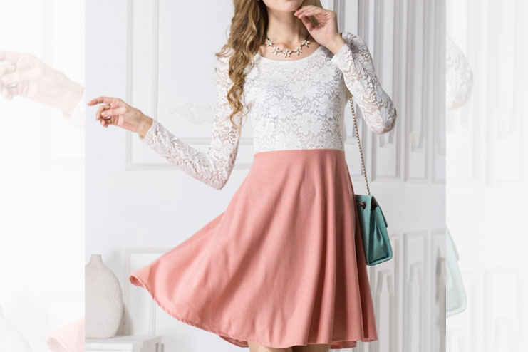 Lace Dress and skirt wear