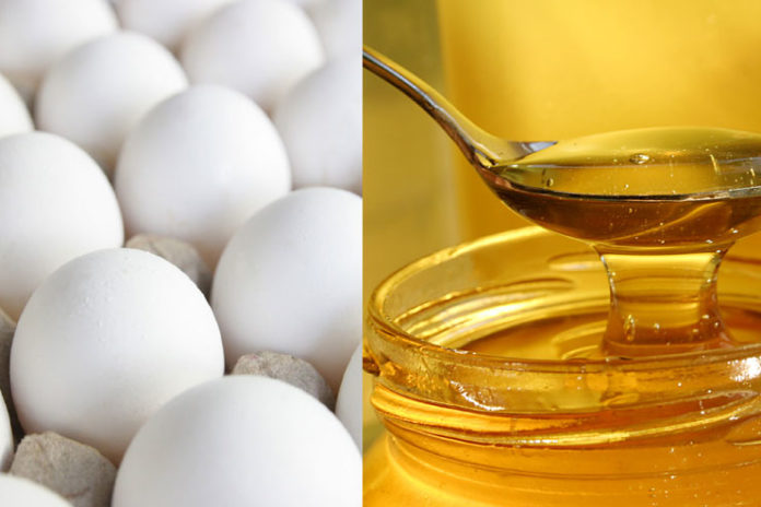 Egg White and Honey Mask
