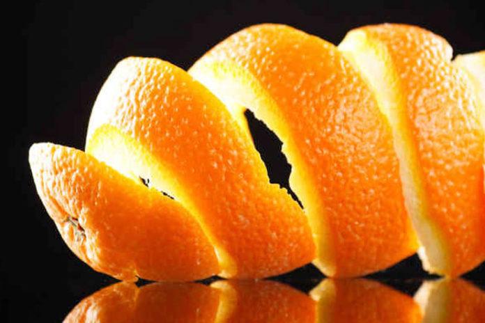 Orange and Lemon Peel Facial Mask