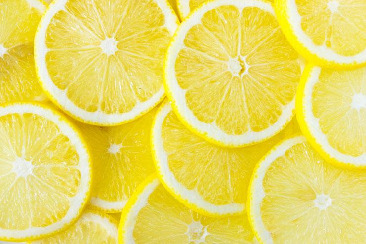 Lemon face masks