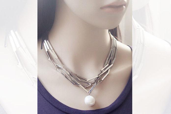 Amazing bamboo necklace