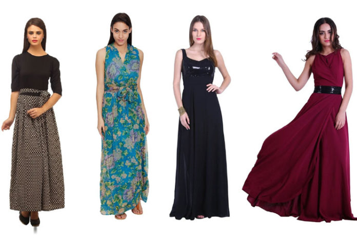 Fashionable long dresses