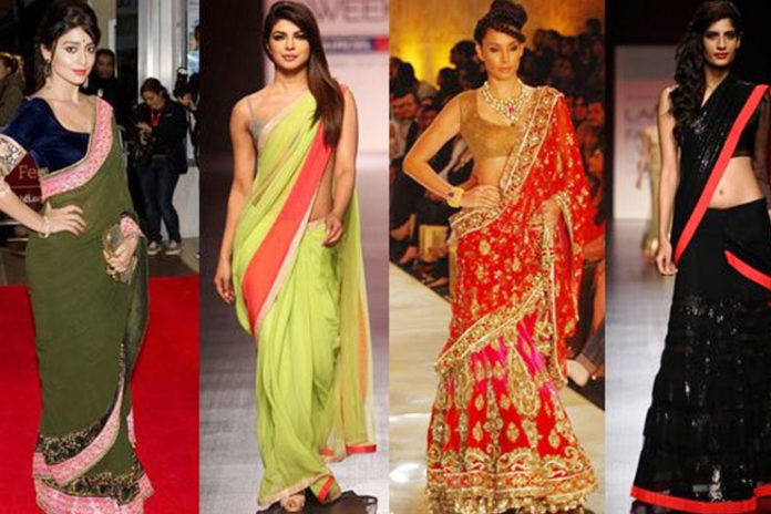 Saree trends in fashion