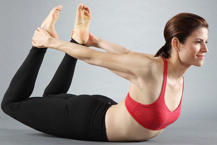 Dhanurasana or Bow Posture