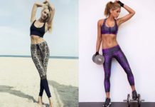 Fashionable Fitness Apparel