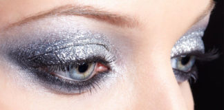 Glittering Makeup