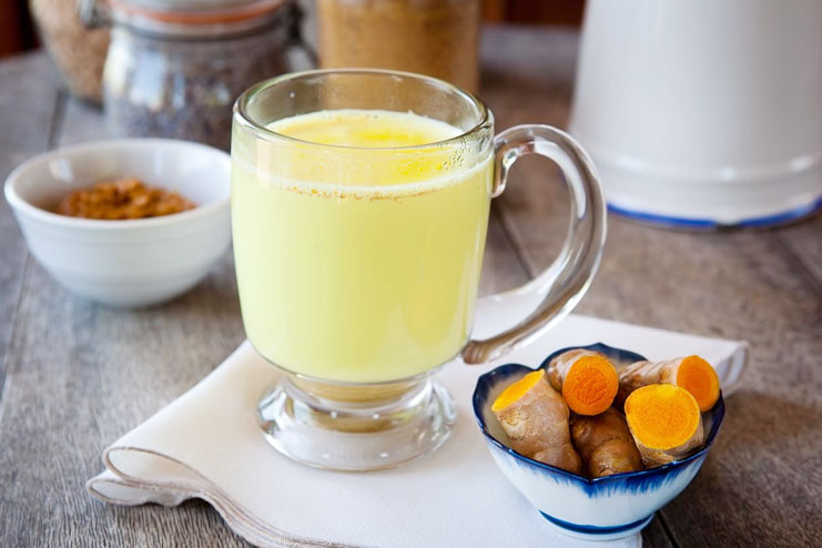 Drink a glass of turmeric milk