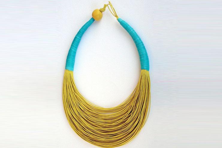 Amazing boho necklace