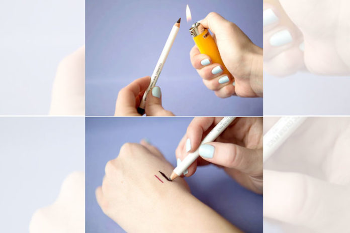 Turn your pencil liner into a gel