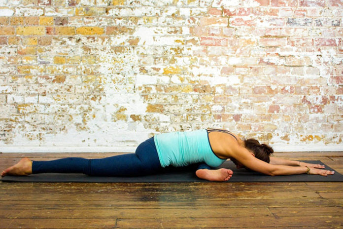 Kapotasana or pigeon pose