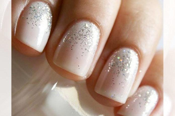 Glitter and white