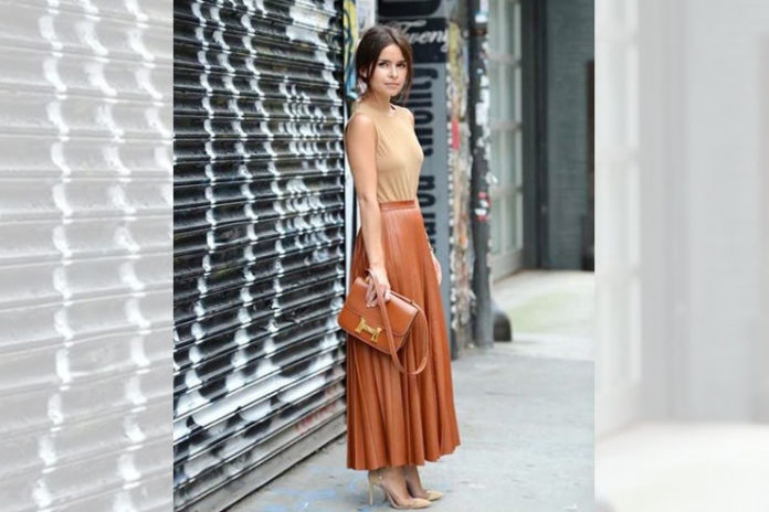 Trendy Maxi Skirt
